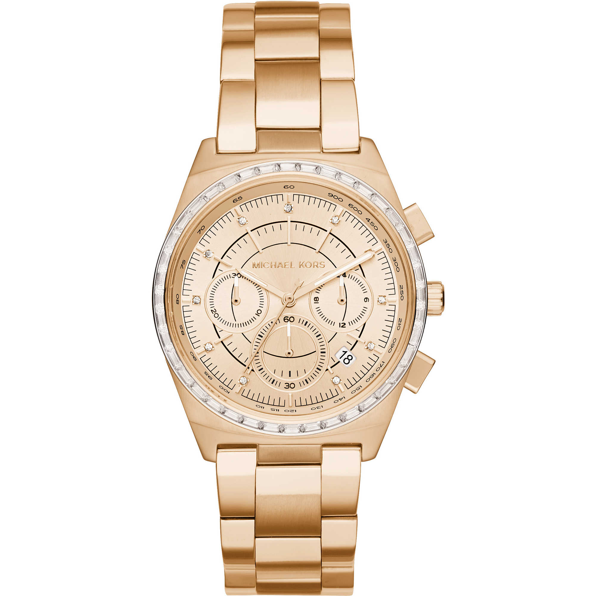 watch chronograph woman michael kors mk6421 chronographs