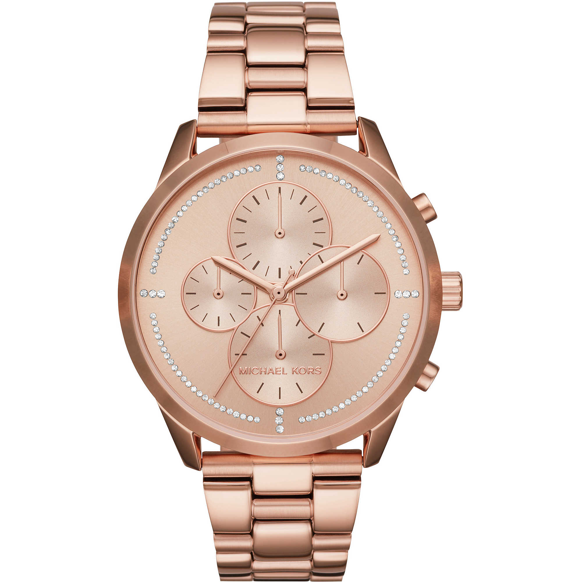 Watch Chronograph Woman Michael Kors Slater Mk6521 Chronographs