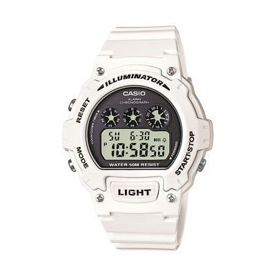 watch digital man Casio CASIO COLLECTION W-214HC-7AVEF