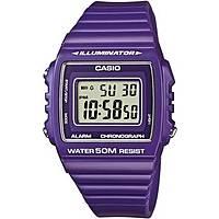 watch digital man Casio CASIO COLLECTION W-215H-6AVEF