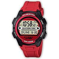 watch digital man Casio CASIO COLLECTION W-756-4AVES
