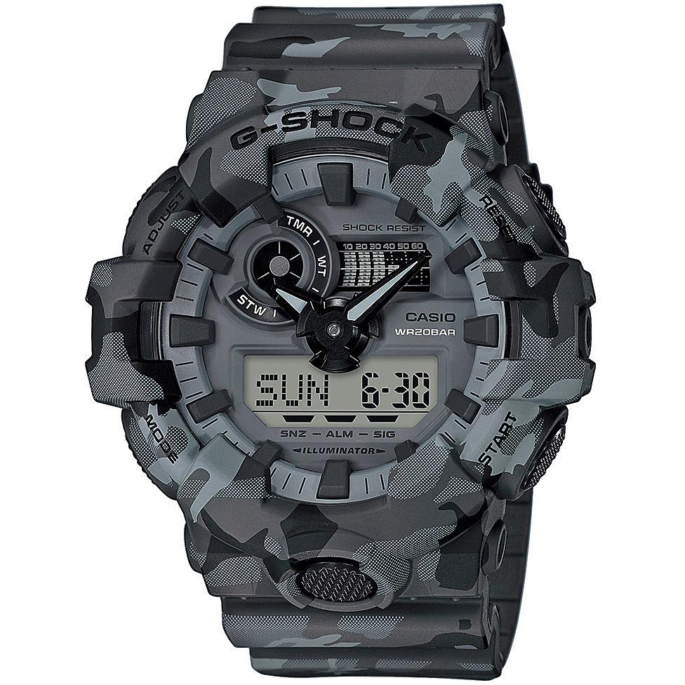 4fc030a2a3f9d watch digital man Casio G Shock Premium GA-700CM-8AER digitals Casio