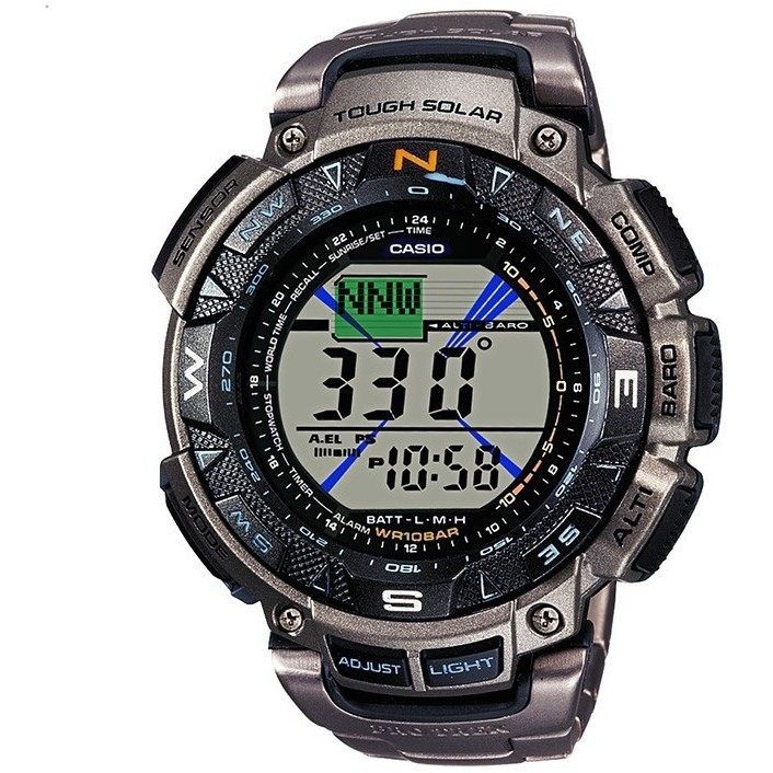 watch digital man Casio PRO-TREK PRG-240T-7ER