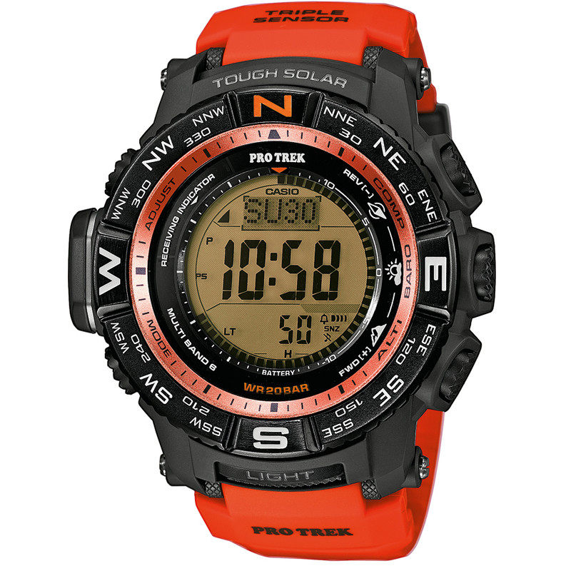 watch digital man Casio PRO-TREK PRW-3500Y-4ER