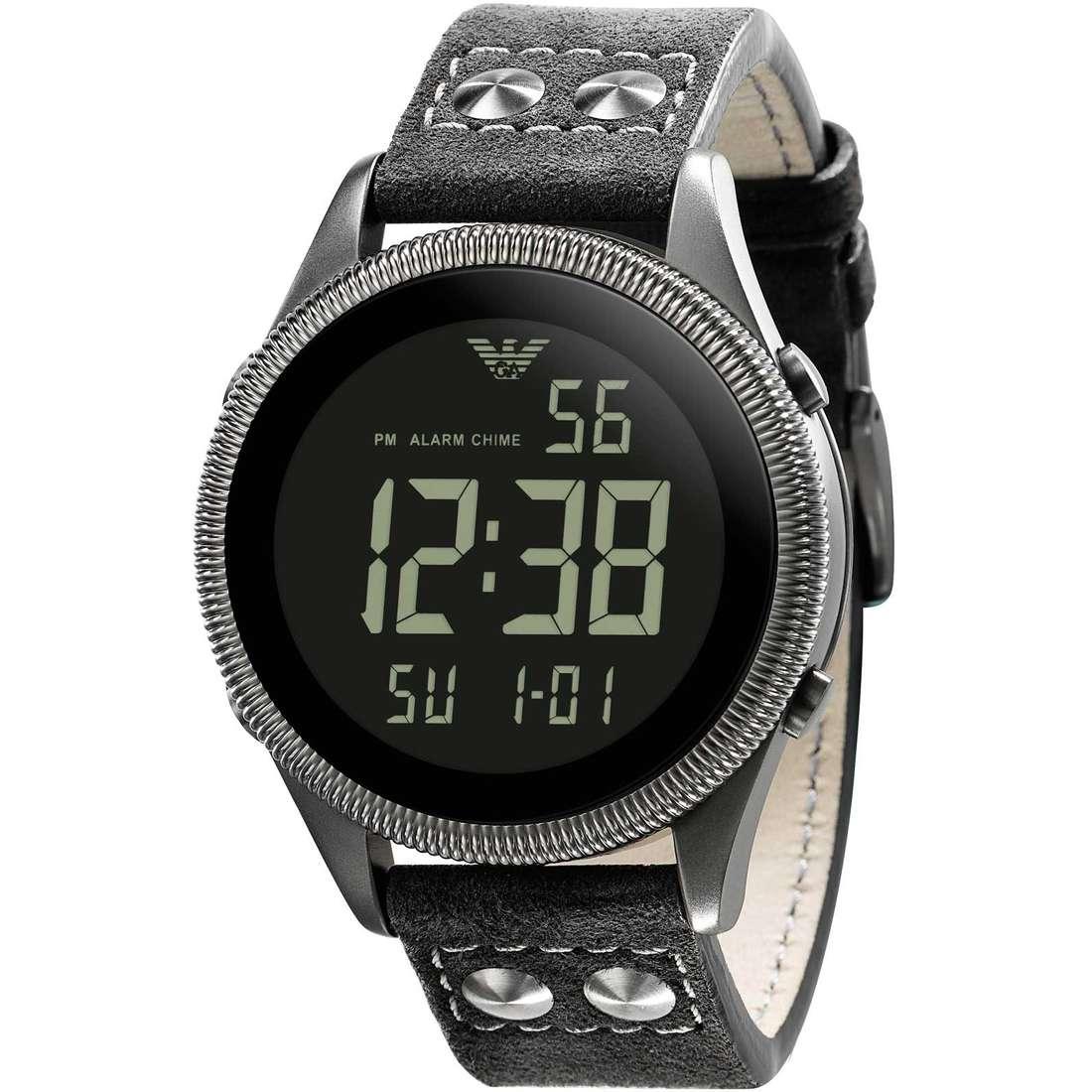 watch digital man Emporio Armani AR0637