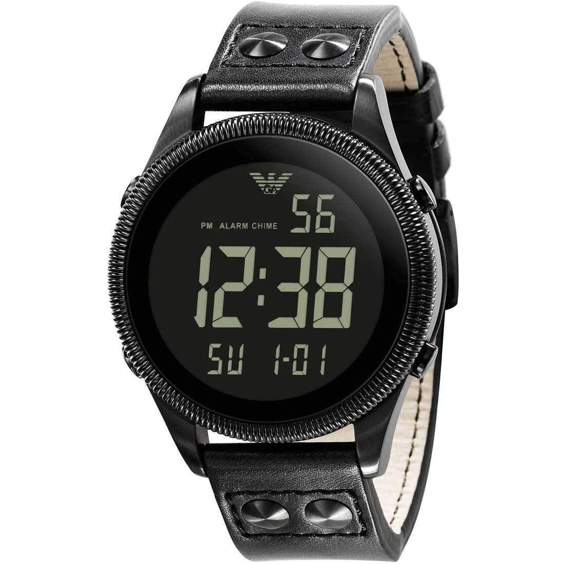 watch digital man Emporio Armani AR0638