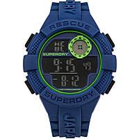 watch digital man Superdry Radar SYG193U