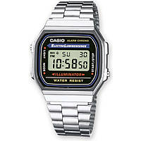 watch digital unisex Casio CASIO COLLECTION A168WA-1YES
