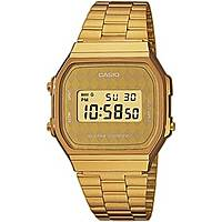 watch digital unisex Casio CASIO COLLECTION A168WG-9BWEF