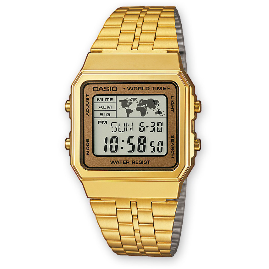 watch digital unisex Casio CASIO COLLECTION A500WEGA-9EF