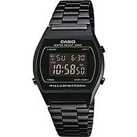 watch digital unisex Casio CASIO COLLECTION B640WB-1BEF