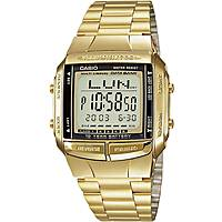 watch digital unisex Casio CASIO COLLECTION DB-360GN-9AEF