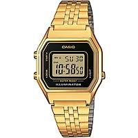 watch digital unisex Casio CASIO COLLECTION LA680WEGA-1ER