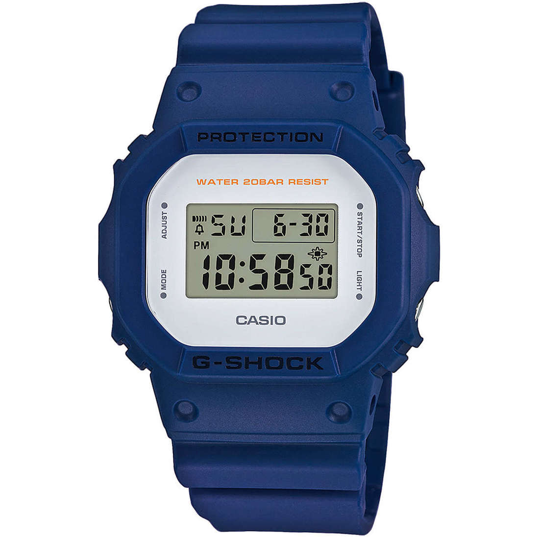 watch digital unisex Casio G-Shock DW-5600M-2ER
