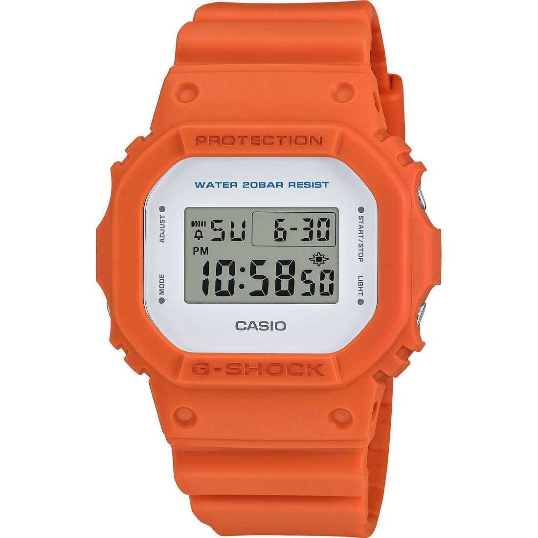 watch digital unisex Casio G-Shock DW-5600M-4ER
