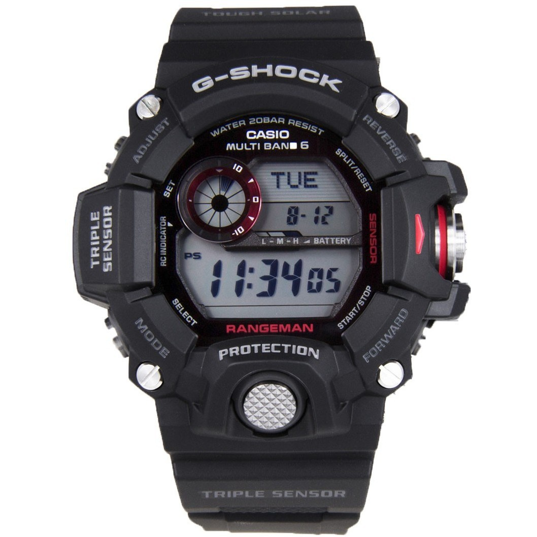 watch digital unisex Casio G-SHOCK GW-9400-1ER digitals Casio