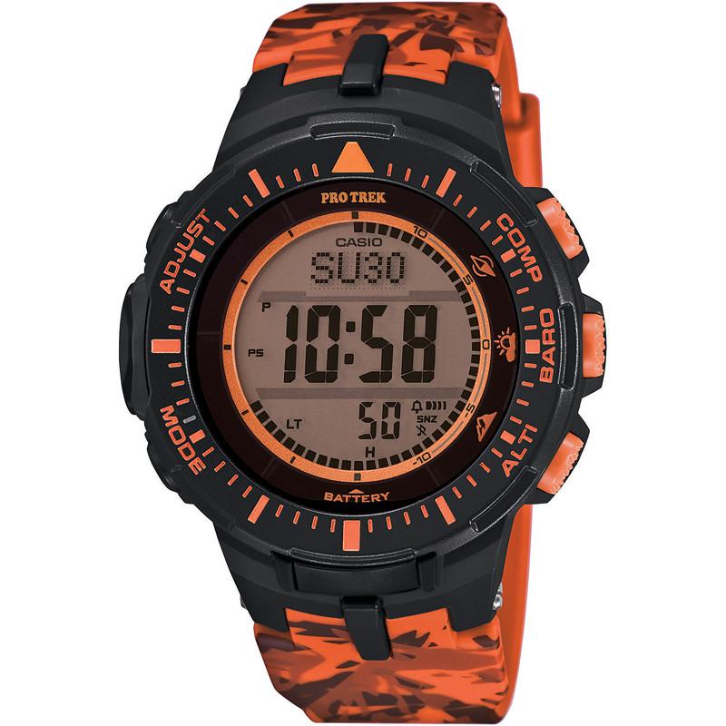 watch digital unisex Casio PRO-TREK PRG-300CM-4ER