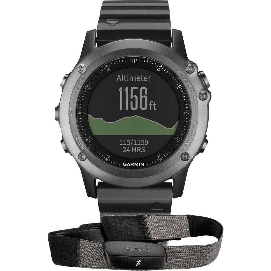 watch digital unisex Garmin Fenix 010-01338-26