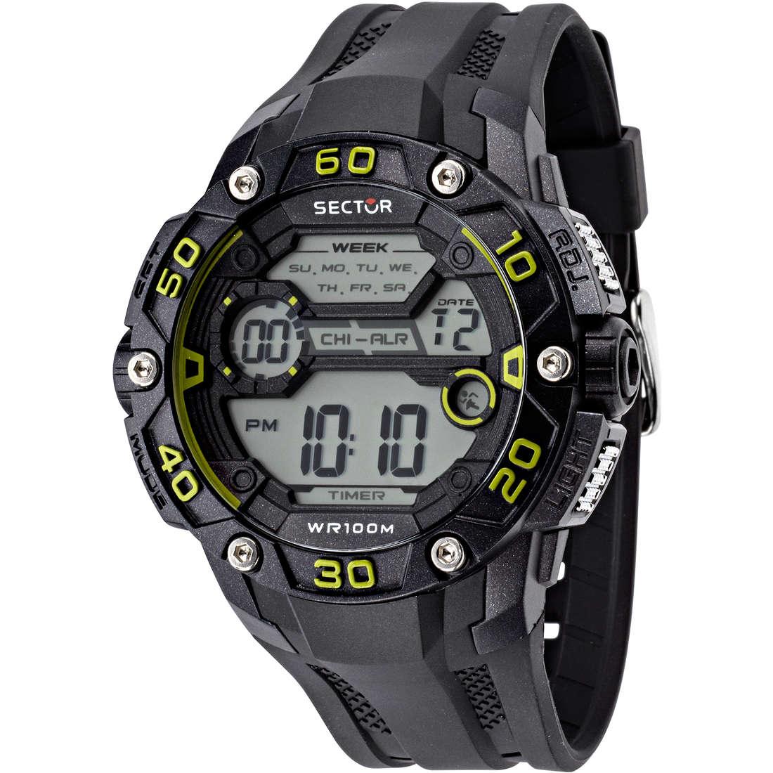 watch digital unisex Sector R3251481001
