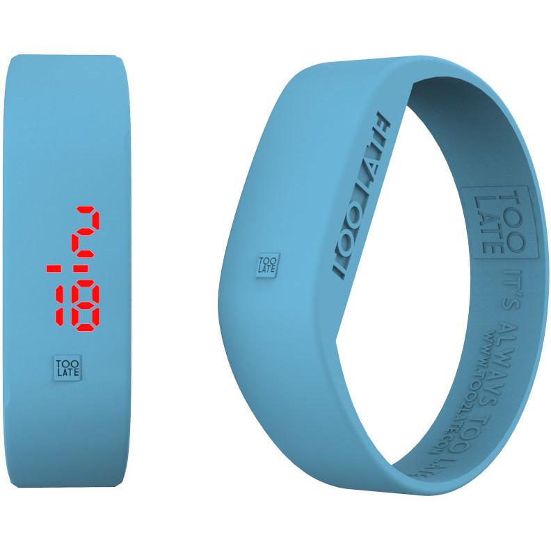 watch digital unisex Too late Led Aurora 8052145225123