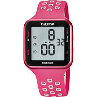 watch digital woman Calypso Color Run K5748/2