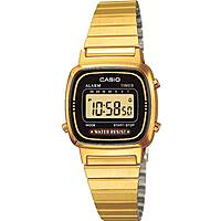 watch digital woman Casio CASIO COLLECTION LA670WEGA-1EF