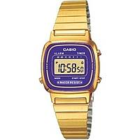 watch digital woman Casio CASIO COLLECTION LA670WEGA-6EF