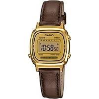 watch digital woman Casio CASIO COLLECTION LA670WEGL-9EF