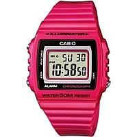 watch digital woman Casio CASIO COLLECTION W-215H-4AVEF