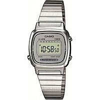 watch digital woman Casio Casio Vintage LA670WEA-7EF
