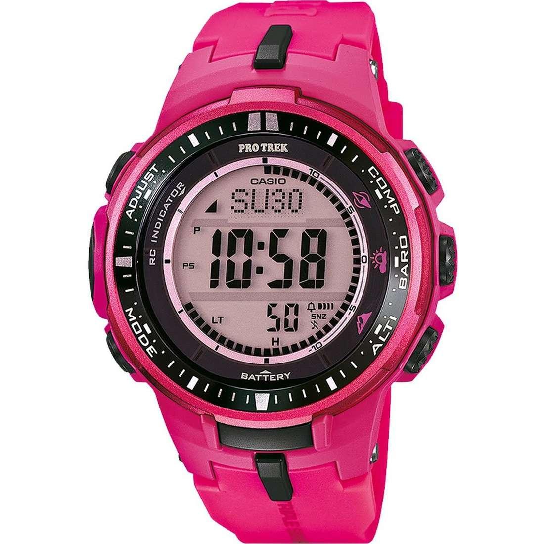watch digital woman Casio PRO-TREK PRW-3000-4BER