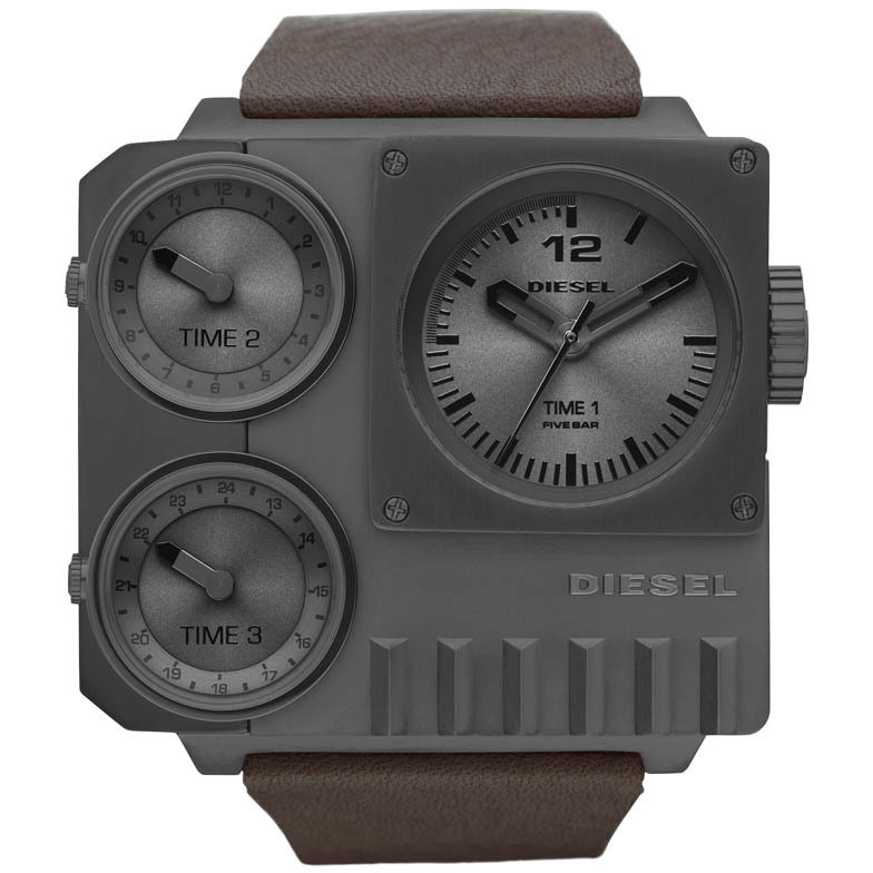 watch dual time man Diesel DZ7249