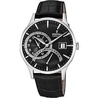 watch dual time man Festina Retro F16983/4