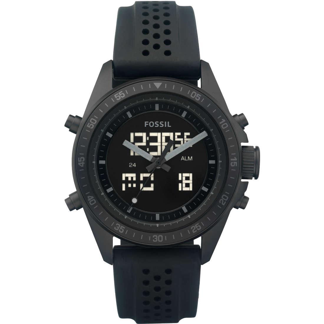 watch dual time man Fossil BQ9414