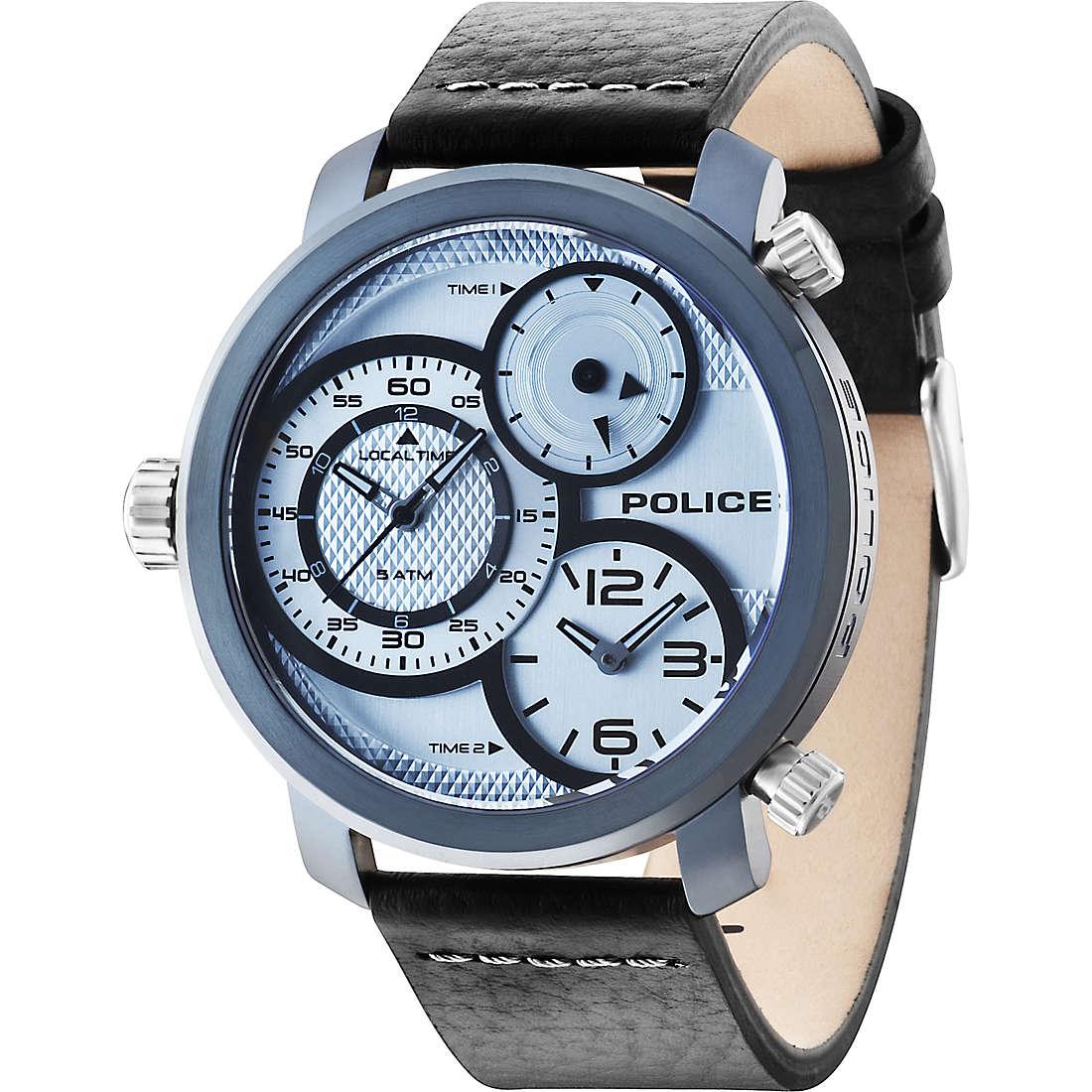 watch dual time man Police Mamba R1451249002