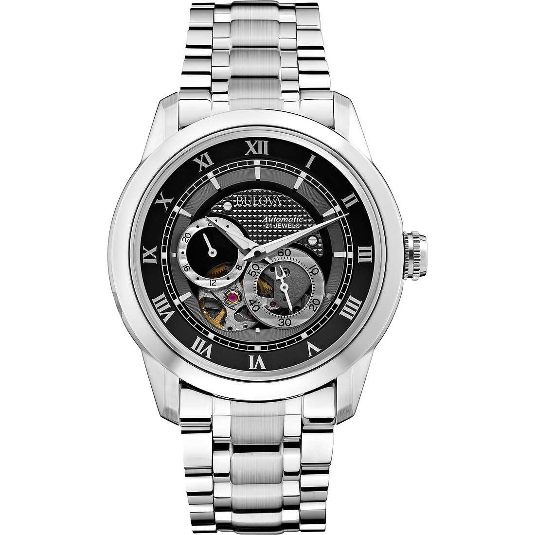 watch mechanical man Bulova Bva Series 96A119