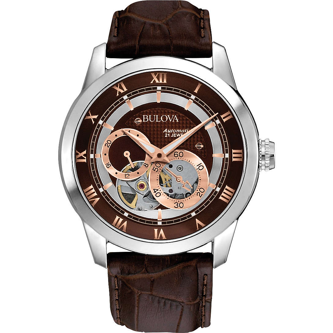 watch mechanical man Bulova Bva Series 96A120