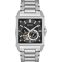 watch mechanical man Bulova Dress 96A194