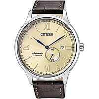 watch mechanical man Citizen Meccanico NJ0090-30P