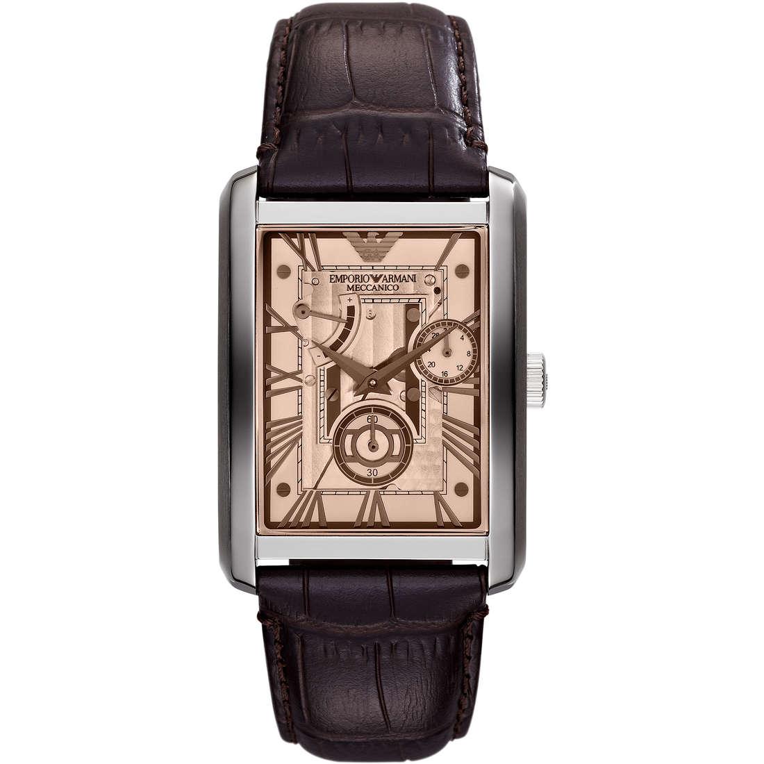 watch mechanical man Emporio Armani Fall 2013 AR4243