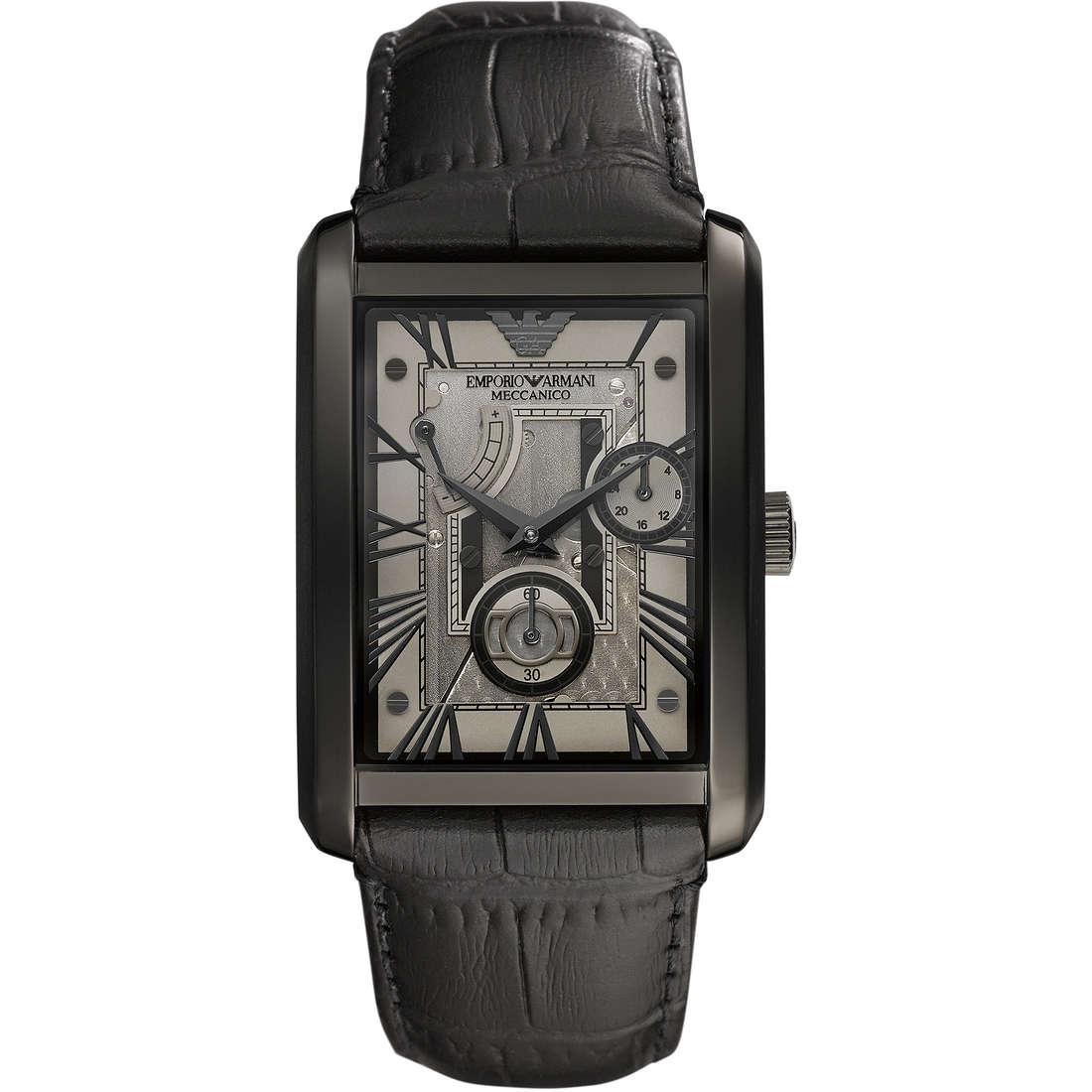 watch mechanical man Emporio Armani Fall 2013 AR4244