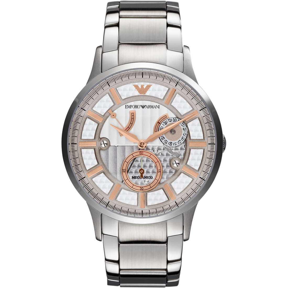 watch mechanical man Emporio Armani Fall 2013 AR4663