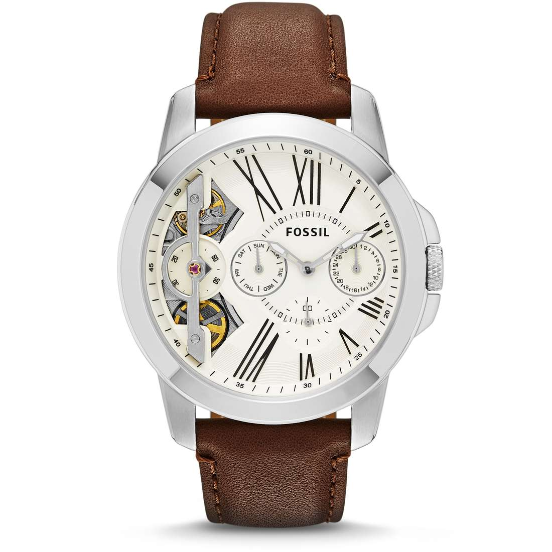 watch mechanical man Fossil Grant ME1144