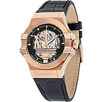 watch mechanical man Maserati Potenza R8821108002
