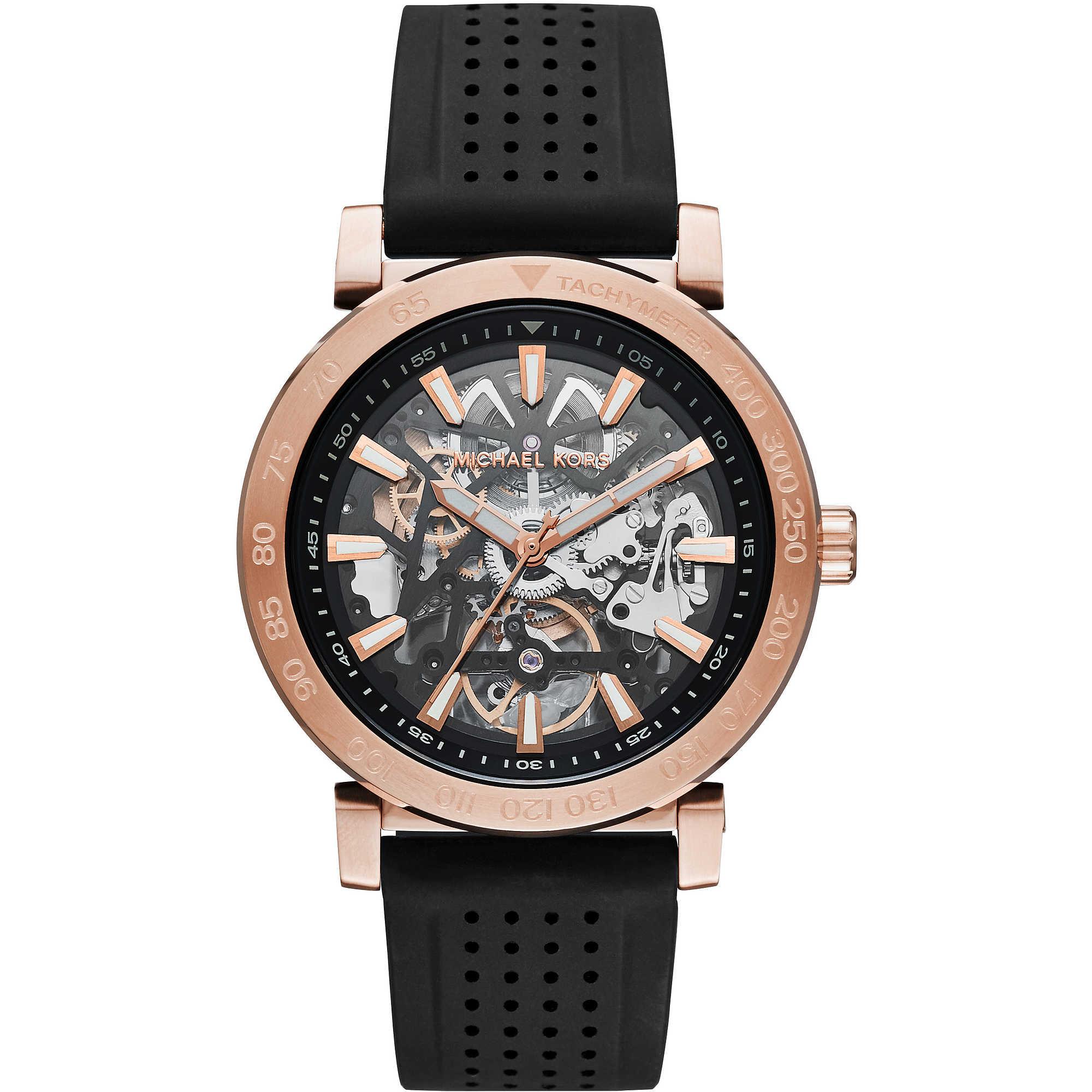 watch mechanical man Michael Kors Halo MK9033 mechanical ...
