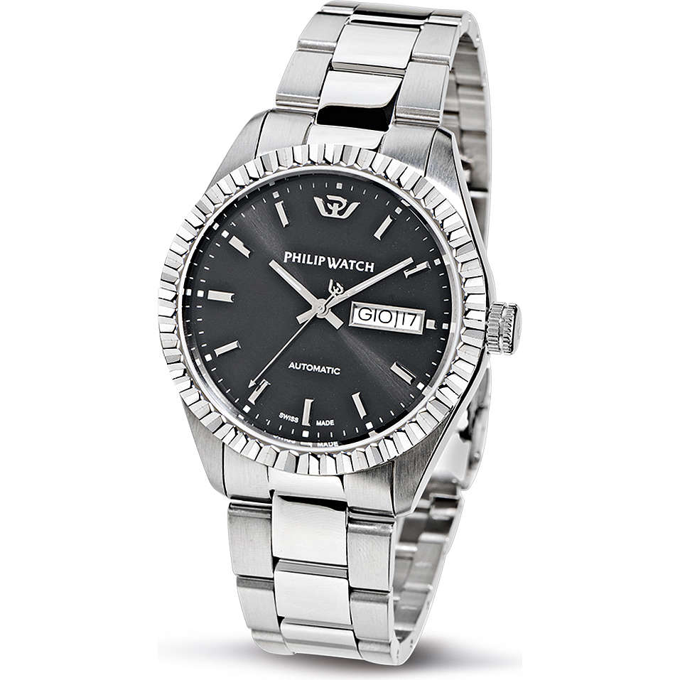 watch mechanical man Philip Watch Caribe R8223597006