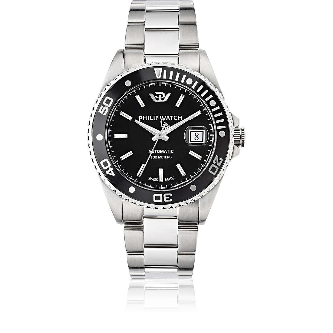 watch mechanical man Philip Watch Caribe R8223597010