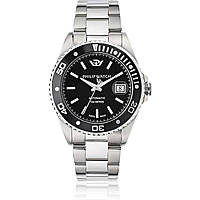 watch mechanical man Philip Watch Caribe R8223597010
