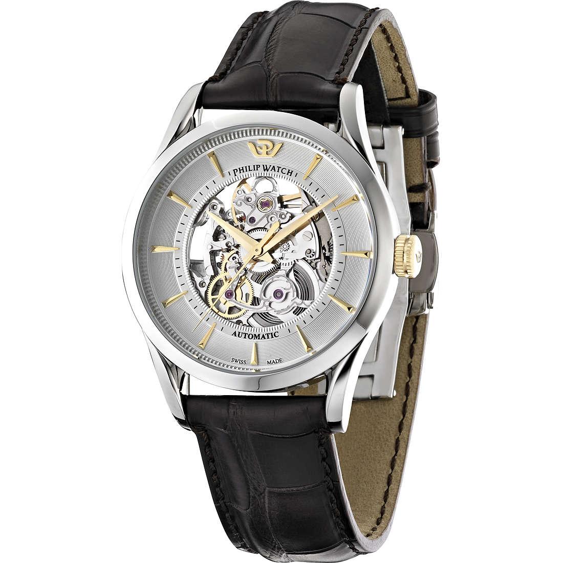 watch mechanical man Philip Watch Sunray R8221180006