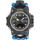 watch multifunction man Avion Cockpit AV-1809-BL